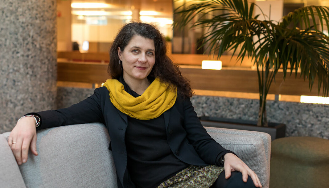 VIL HA GRØNNE BYGGEIERE: Kronikkforfatter er Katharina Bramslev, daglig leder i Grønn Byggallianse.