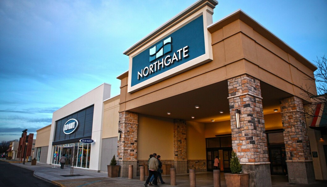SLITER: Northgate Mall i Tennessee er ett av CBLs mange kjøpesentre.