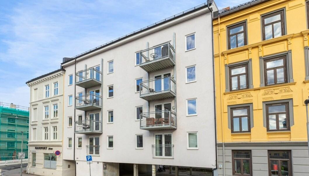 KOMMUNALE BOLIGER: Oslo kommune vil betale ca. 6 mill per leilighet i bygården som kan bli kommunale boliger.