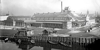 Historiske bygg: Kvegdrift midt i hovedstaden