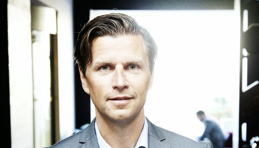 NY: Daniel Stenbäck tar over ledelsen i Stordalens konsern.