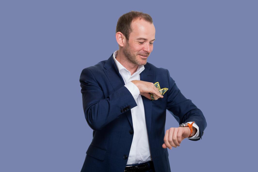 SKAL VOKSE: Ifølge administrerende direktør Andreas Jul Røsjø skal Møller Eiendom øke porteføljens verdi fra 13 til minst 15 milliarder kroner.