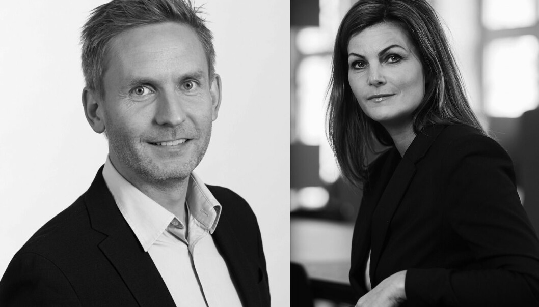 SATSER: Betonmast Eiendom er klar for å satse og henter Øyvind Moen og Kathrine Nyhus.