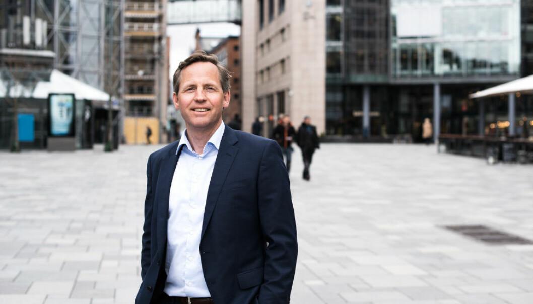 SOLID: Tidligere CBRE-sjef John Olof Solberg gjør det godt gjennom egne investeringer. (Arkivfoto)