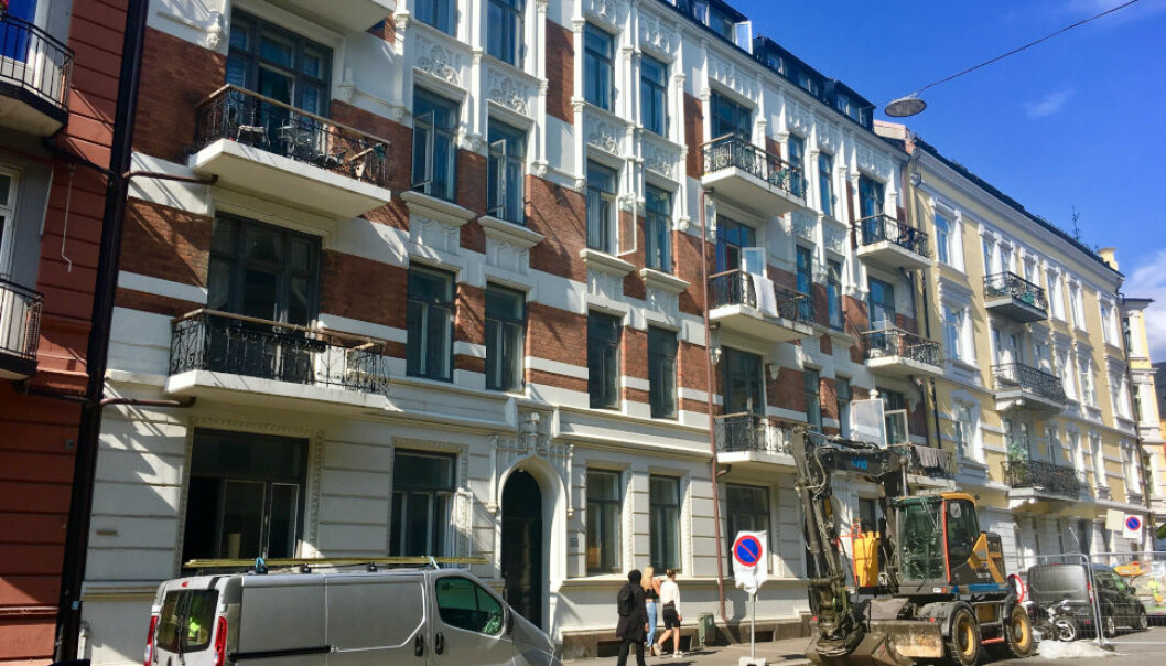 KREVER PENGER TILBAKE: Om noen dager skal Oslo tingrett ta stilling til om Oslo kommune betalte overpris da de kjøpte denne eiendommen på Majorstua i 2016.