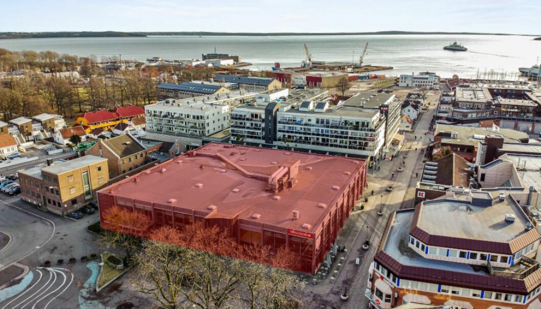 PÅ MARKEDET: Kjøpesenteret Torggården i Horten er lagt ut for salg.