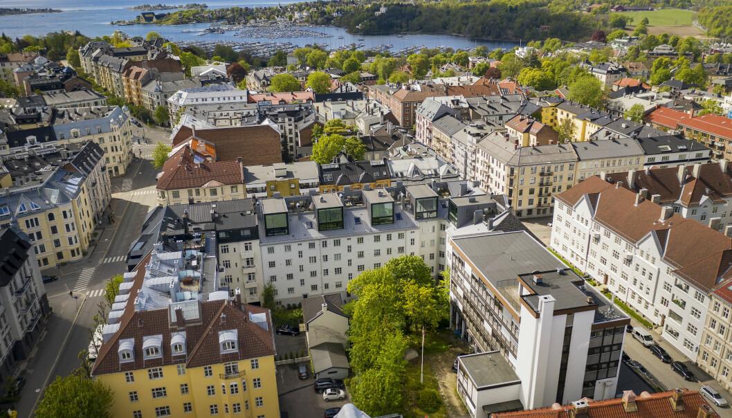 SOLGT: Frogner Menighet har solgt Erling Skjalgssons gate 25.