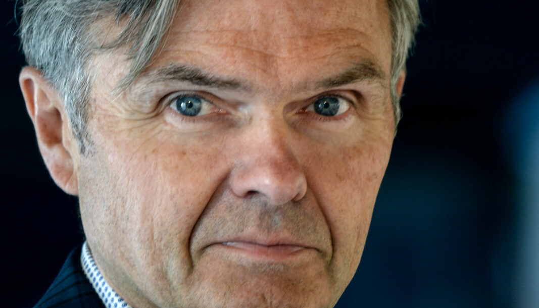 FÅR MUSKLER: Adm. direktør Jarl J. Fronth får tilgang på en enorm pengesekk når Oslo House inngår samarbeid med NREP.