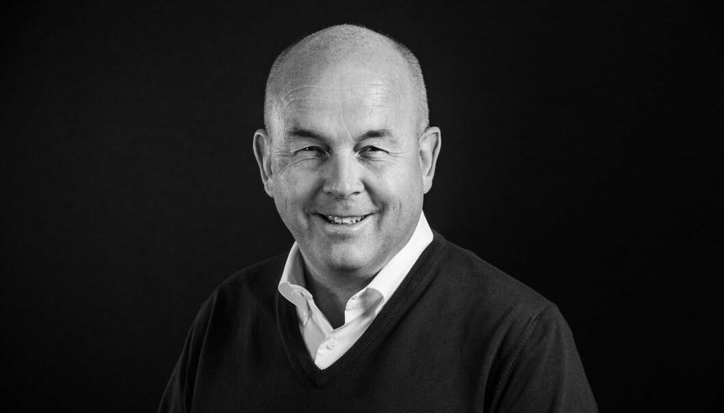 SOLID OVERSKUDD: Adm. direktør Asgeir Solheim i Fabritius Gruppen kan glede seg over et nytt godt år.