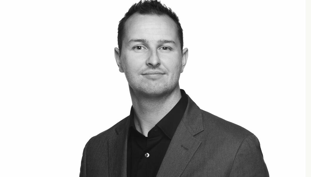 Robert Skramstad, daglig leder i Malling & Co Technology AS