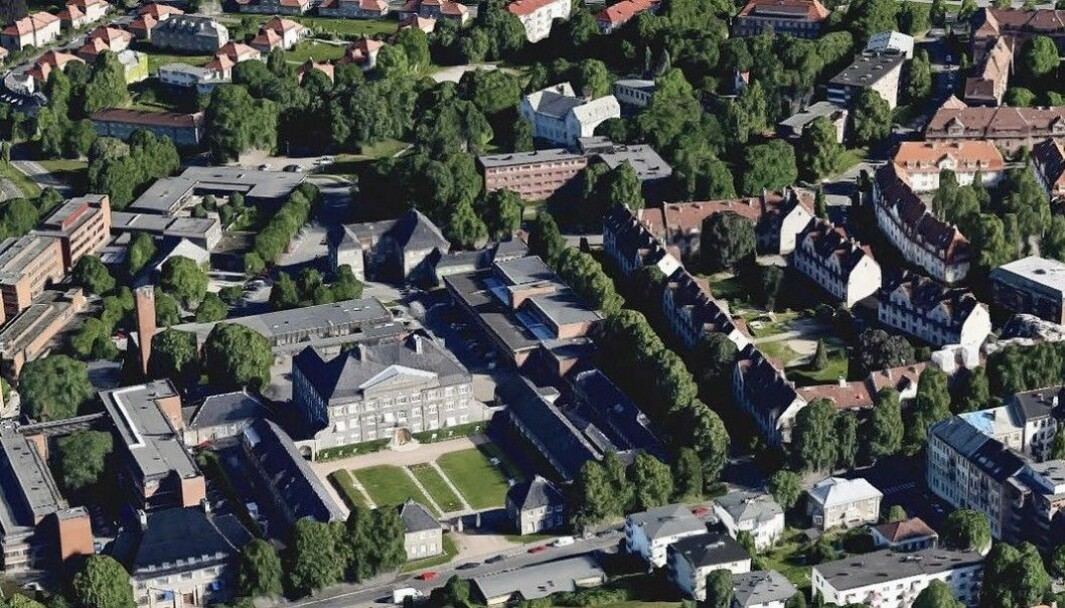 67 DEKAR: Tomten er på hele 67 dekar, og ligger like ved Ullevål sykehus.