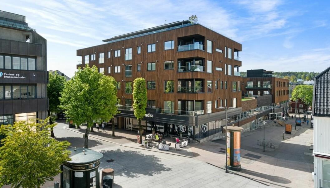 MYE PÅ GANG: Q8 har flere salg på gang, blant annet Storgata 30-32 i Tønsberg, som er for salg.
