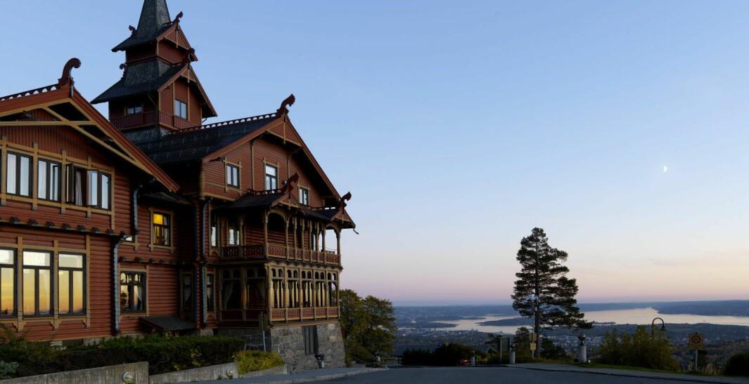 SIDEN 1894: Hotellet er kjent for sin spesielle arkitektur og med historie tilbake til 1894.