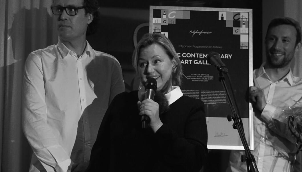SENESTE VINNER: BGE Contemporary Art Gallery er den seneste vinneren av Cityprisen Rogaland.