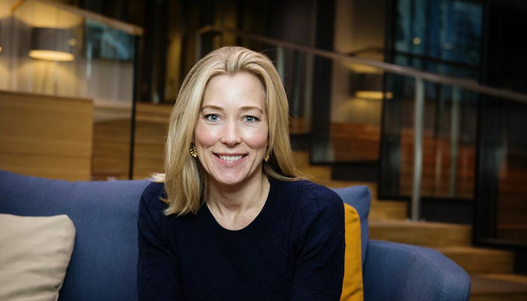 NØKKELROLLE: Ingrid E. Moe i Braathen Eiendom får en nøkkelrolle i foredlingen av Dronning Eufemias gate 8 og utrulling av tjenestekonseptet Flyt.