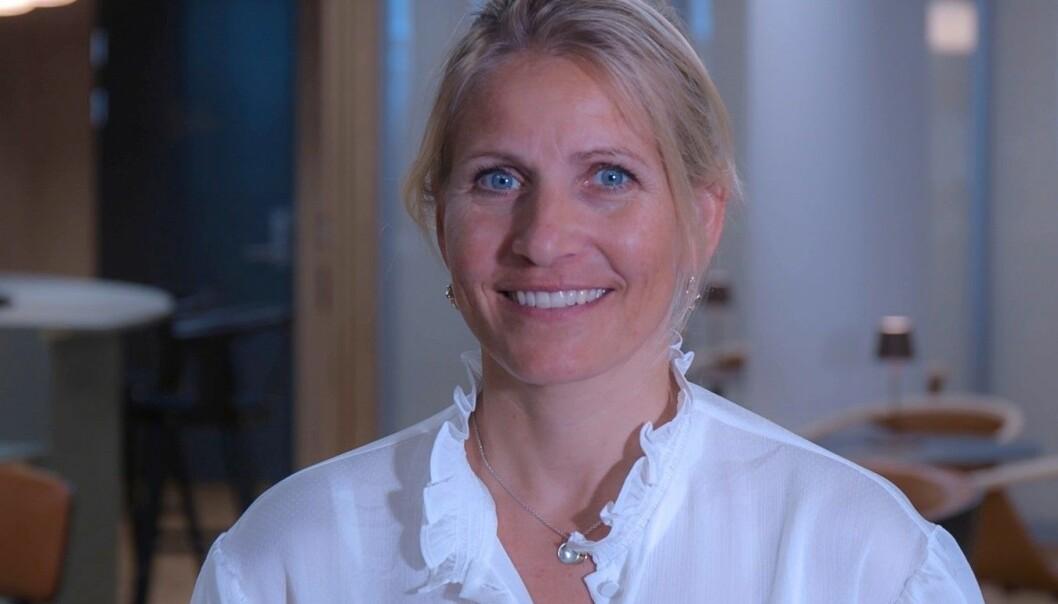 RYKKER OPP: Mette Arntzen Bjerke går inn i ledergruppen i Møller Eiendom.