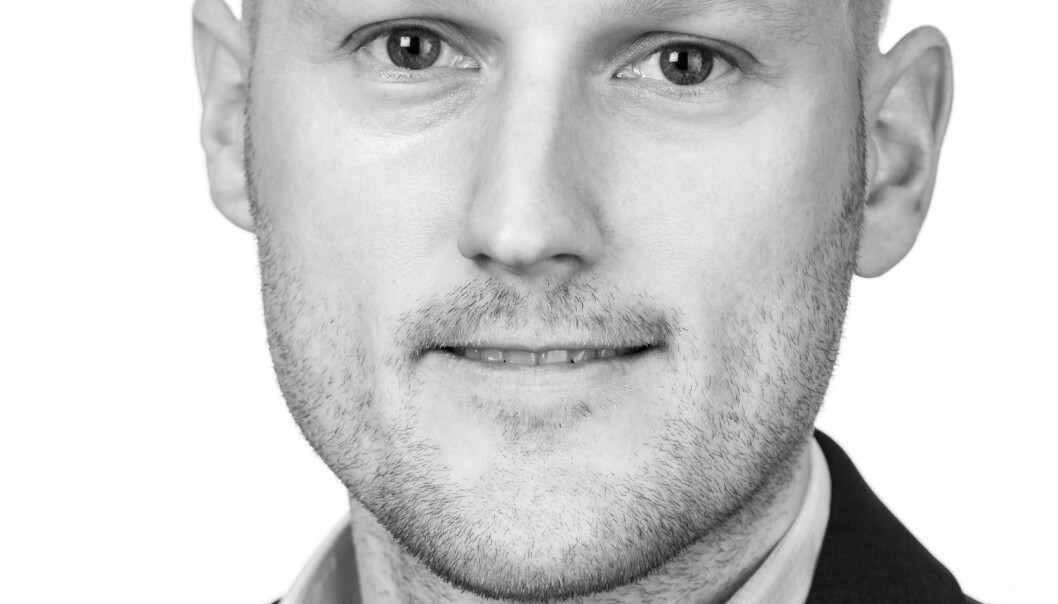 STERKT TRANSAKSJONSMARKED: Analysesjef Robert Nystad forteller om et hett transaksjonsmarked. Foto: nyebilder.no