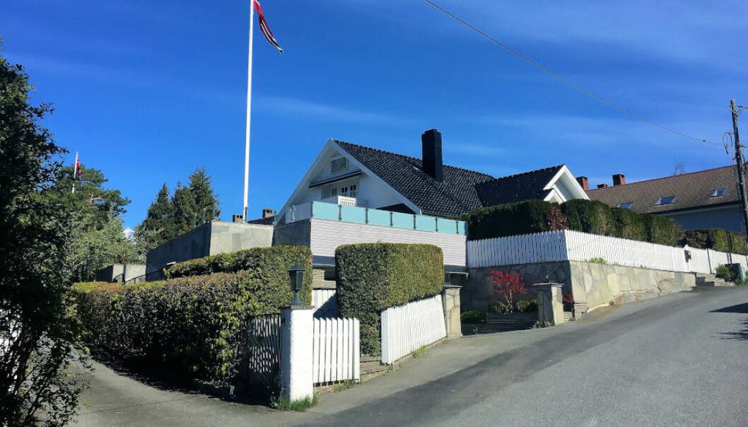 TO RETTSRUNDER: Denne 25 millioners-villaen på Snarøya har vært gjennom rettsapparatet to ganger.