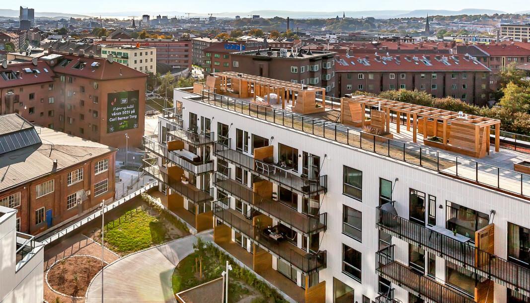 POPULÆRT: Mange ønsker å bo sentralt i indre by.