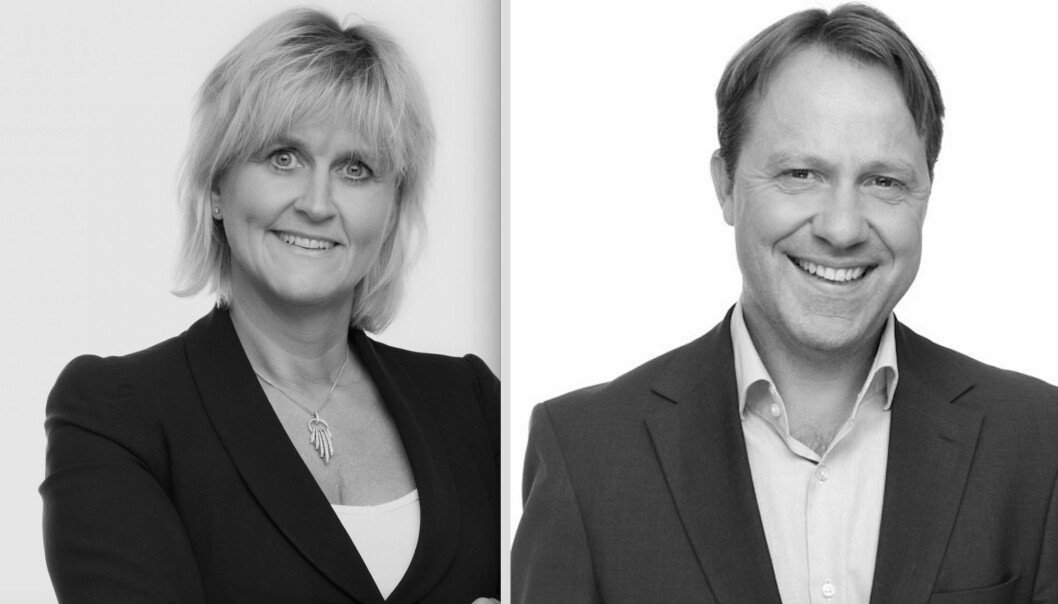 LEDERKABALEN GÅR OPP: Anne Bruun-Olsen og Tor Svein Brattvåg skal lede henholdsvis leietakerrådgivningsavdelingen og utleieavdelingen.