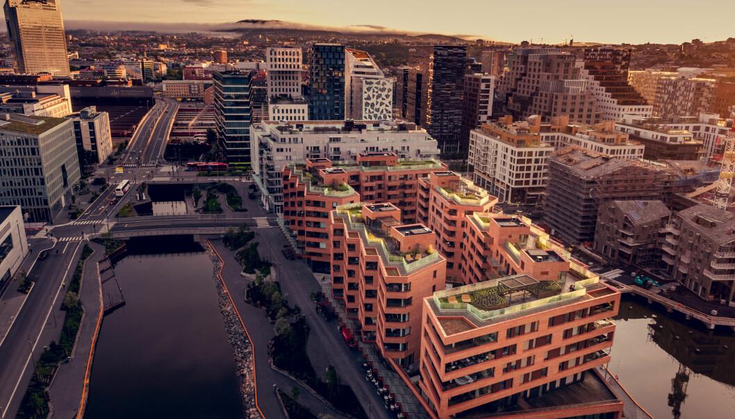 IMPONERENDE: Byutviklingsutvalget mener Munch Brygge er et imponerende gjennomarbeidet arkitekturprosjekt.