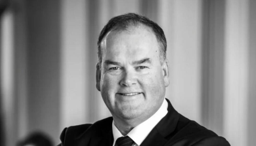 FORNØYD: Thor Bjørdal er fornøyd med å få Patrick Tepfers med på laget som ny adm direktør i Colliers International.
