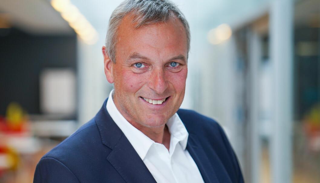 KORTERE ENN PLANLAGT: Rolf Thorsen var sjef i Selvaag Bolig fra mai 2019.