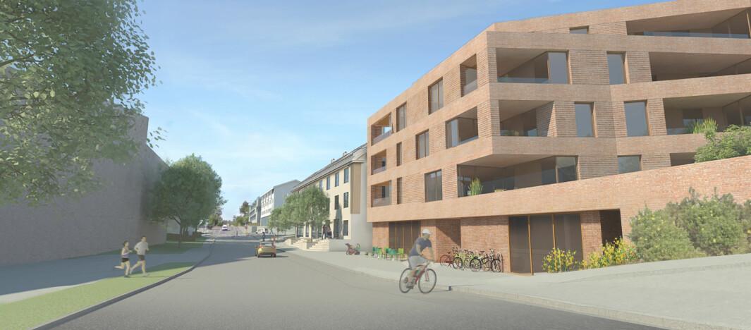 URBAN BEBYGGELSE: Hensikten med planen er å skape en helhetlig og urban bebyggelse.