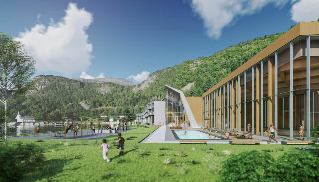 OPPBYGGING: Lokale investorer har store planer for det nye hotellet.