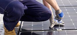 Vurderer dere solceller på taket?
