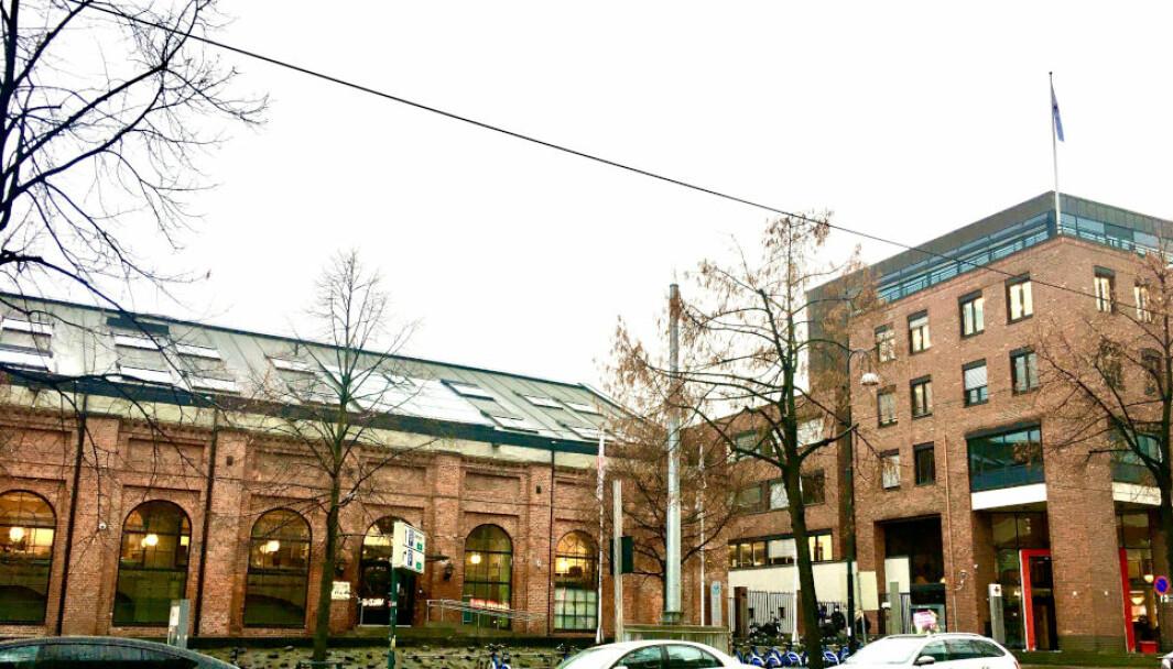 LEIETVIST: Utleier Røde Kors og leietaker Norsk Institutt for fredsforskning har ikke greid å bli enige om hva som er markedsleie for disse lokalene i Hausmanns gate. Til uken er det klart for rettssak mellom partene.