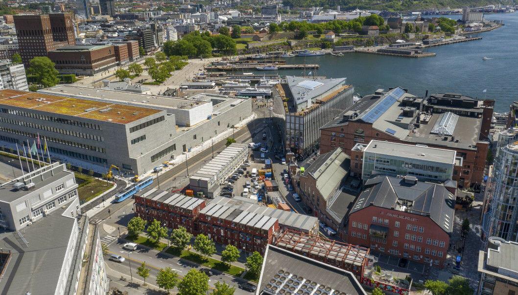 SOLGT TIL FERD: Tomten er regulert for en utbygging på 24.000 kvadratmeter.