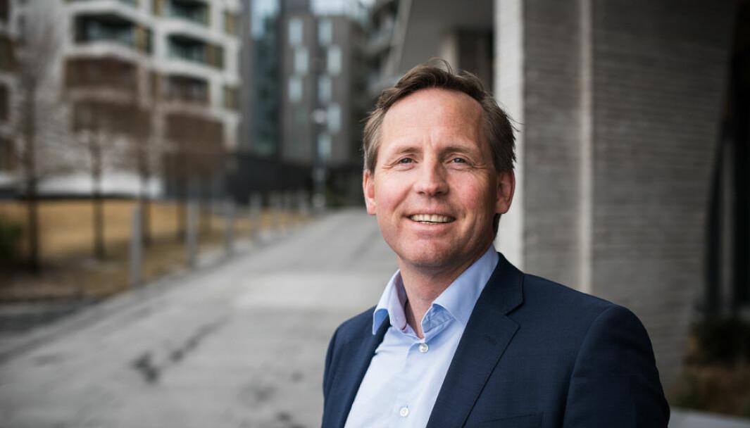 AVKASTNING: John Olof Solberg er blant de som tjener godt på salget av Spacemaker til Autodesk.