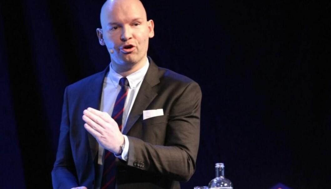 HETT TRANSAKSJONSMARKED: Analysesjef Øyvind Johan Dahl i Newsec er ute med markedsrapporten for tredje kvartal.