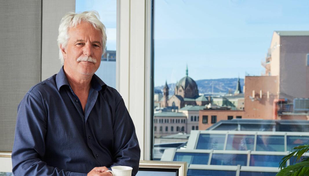 Bjørn Larsen, administrerende direktør i EFI.