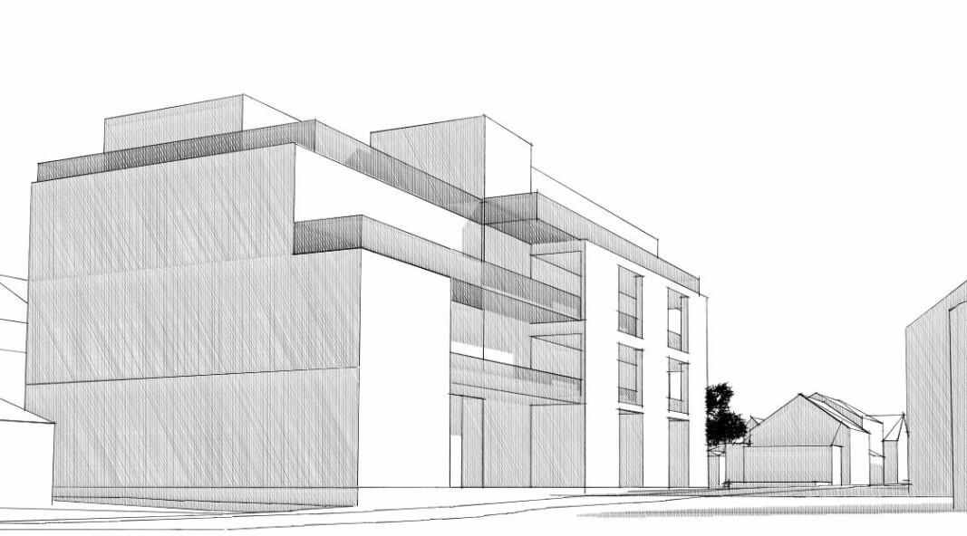 SENTRUM: Slik kan Kvartal 314 bli når det er ferdig bygd.
