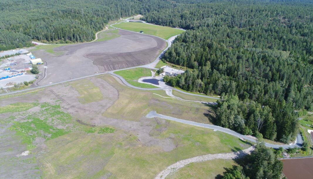 DYNGE: Grønmo var Oslo kommunes største søppeldynge fra 1969- 2007. De grønne områdene er tenkt som flerbrukspark for allmennheten.