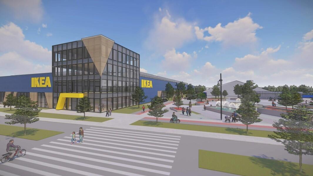 VIL UTVIDE: Ikea er en betydelig eiendomsbesitter. På Furuset i Oslo vil selskapet utvide til 60.000 kvadratmeter.