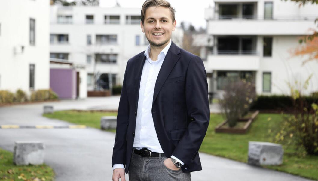 BYTTER BEITE: Eirik Skarstad-Knudsen går fra Wahl Eiendom til Conceptor Eiendom.