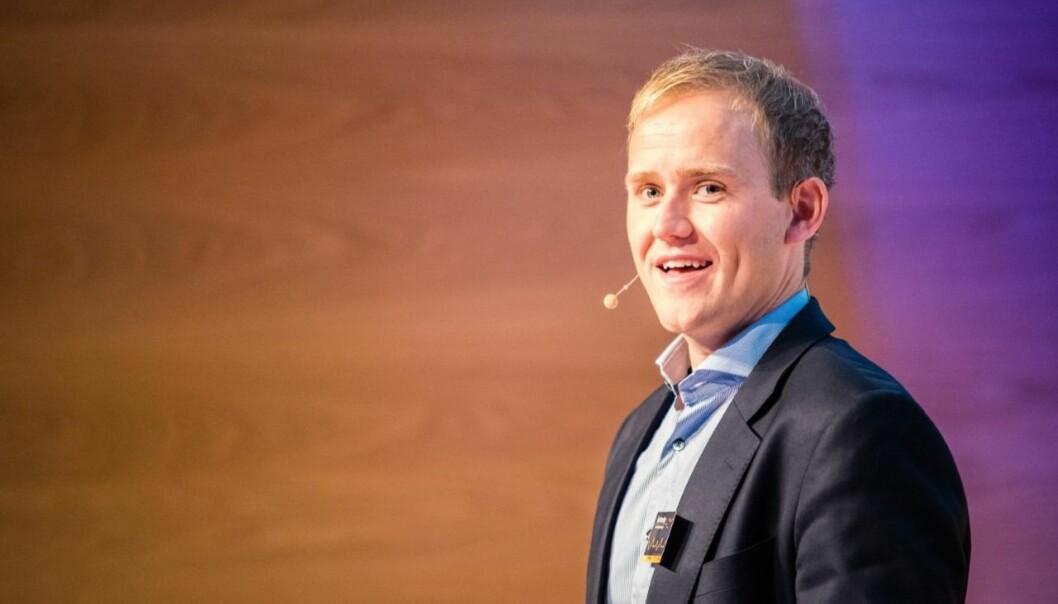 STERK VEKST: Daglig leder Geir Atle Bore i FundingPartner opplever sterk vekst i crowdlending-markedet.