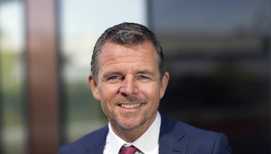 TAR STORT JAFS I NORDEN: Henrik Dahl Jeppesen, administrerende direktør for DEAS Group.