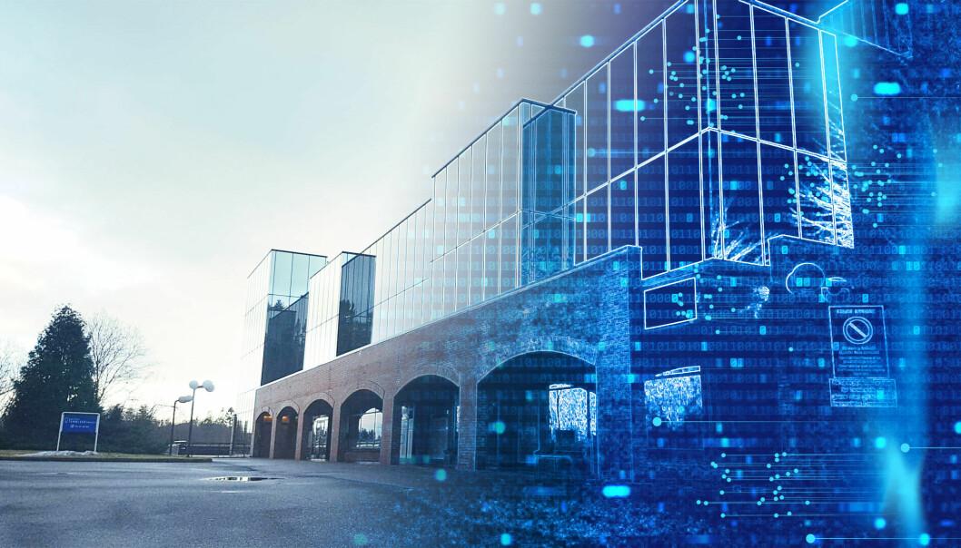 SMART: Digitalisering av bygg kan gi store besparelser.