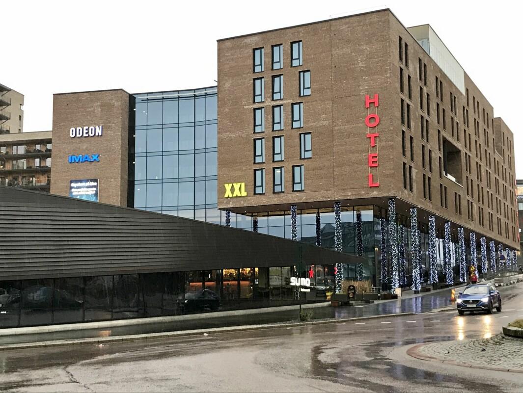 STORPROSJEKT: Olav Thon Eiendomsselskap fikk rammetillatelse til å oppføre et bruksareal på opptil 50.000 kvadratmeter i Vitaminveien.