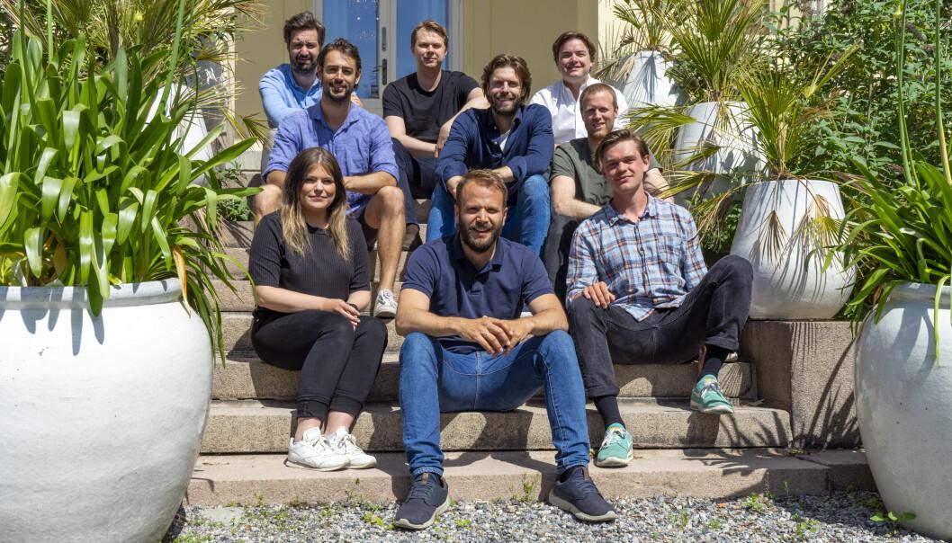 FULL FART: Byggstart omsatte for 8,7 millioner kroner i fjor. Når satser selskapet i Sverige.