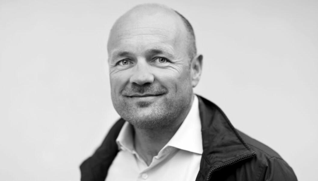 GODT FORNØYD: Tollef Svenkerud i Fredensborg Bolig har lagt bak seg et godt år med høy aktivitet og store eiendomskjøp.