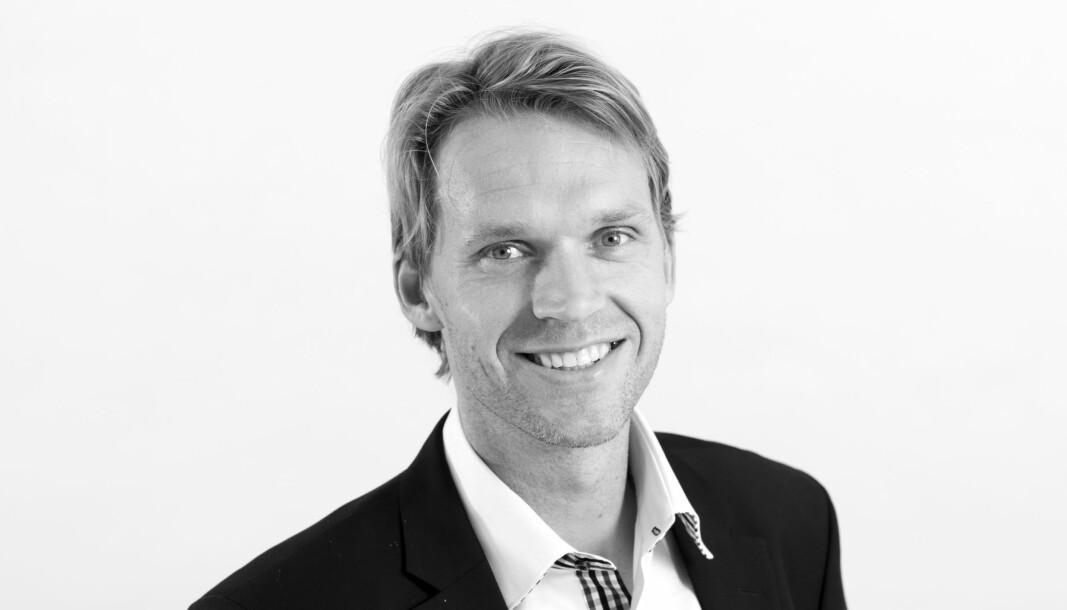 SKAL VOKSE VIDERE: Fredrik Sommerfeldt ser muligheter for Malling & Co Markets.