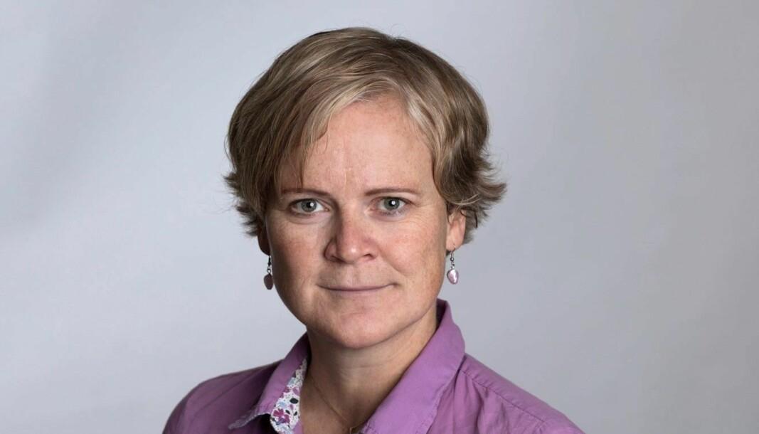 LOOPFRONT: Elin Hansen skifter beite.