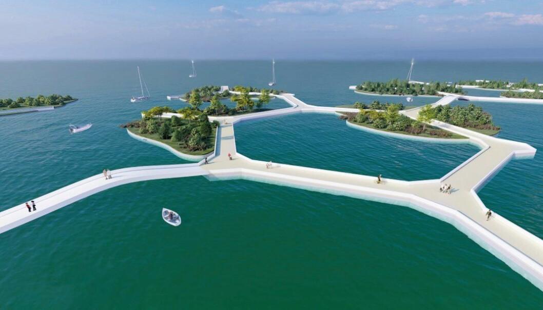 SKISSER: Noe av dette kan bli bygd i Fjordbyen.
