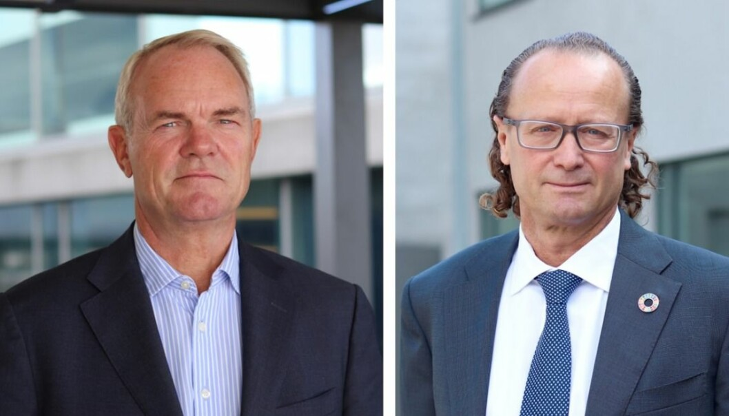 NYTT: Truls Nergaard og Jan Erik Saugestad lanserer nytt eiendomsfond.