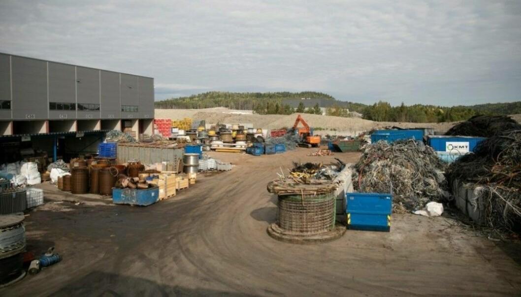 20 ÅR: KMT har tegnet en leieavtale på 20 år for anlegget på Linnestad Næringspark.
